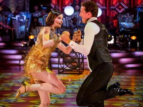 Sophie Ellis Bextor wowed with her professional partner, Brendan Cole