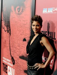 "Halle Berry arrives at the premiere of ""The Call"" in Los Angeles, California on March 5, 2013. ""The Call"", which stars Berry as a 911 operator trying to rescue a young girl who has been abducted, debuted with $17.1 million in sales"