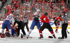 Senators-Canadiens brawl...what did you expect?