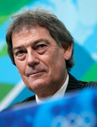 "World Anti-Doping Agency (WADA) director-general David Howman answers questions during a press conference ahead of the 2010 Winter Olympics in Vancouver, Canada. Howman said the British Olympic Association (BOA) had ""wasted a lot of time and money"" appealing to the Court of Arbitration for Sport (CAS) on lifetime bans for drug cheats"
