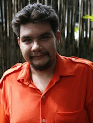 "Image taken in 2009 and provided by Thoughtful Robot Productions shows Francisco Juan Larranaga at the national penitentiary in Manila. The award-winning documentary ""Give Up Tomorrow"" follows Larranaga as he is transformed from a student into one of the nation's most hated people whose adult life is lost behind bars"