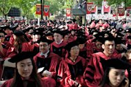 Commencement Exercises are held at Harvard University on May 30, 2013 in Cambridge, Massachusetts. US universities dominate the top 20 in global annual rankings released by a Chinese organisation Thursday, with Harvard once again in top spot