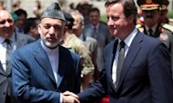Cameron And Karzai Discuss Afghan Future