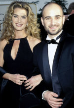 Brooke Shields and Andre Agassi | Photo Credits: KMazur/WireImage