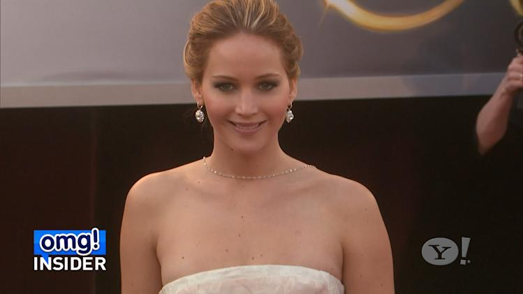 How Jennifer Lawrence took the edge off after Oscar win