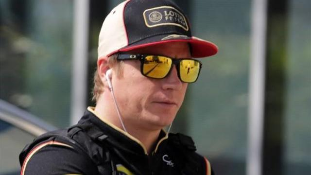 Formula 1 - Raikkonen now 'back on side' - Lotus