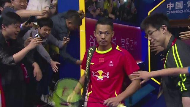 Lin Dan makes winning return