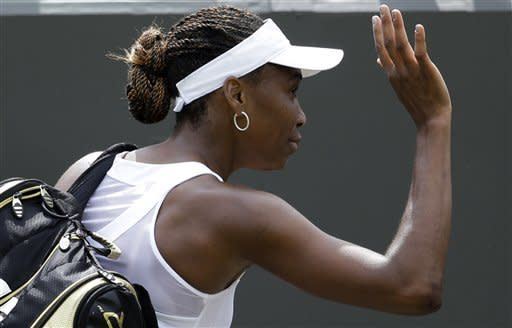 5-time champion Venus Williams loses at Wimbledon