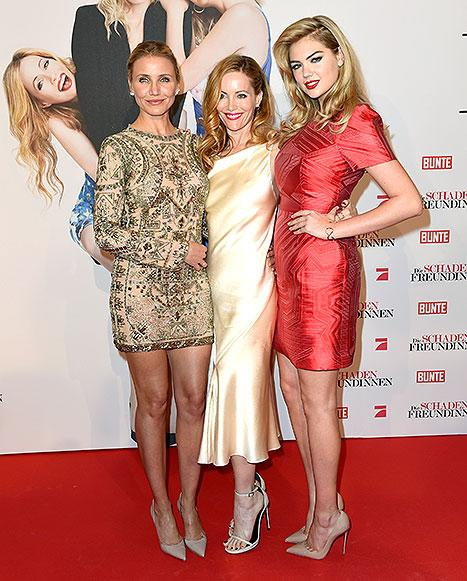 The Other Woman Cast Is a Modern-Day 90s Girl Group: Cameron Diaz, Leslie Mann, Kate Upton Coordinate Outfits