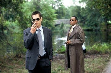 Kevin Bacon and Laurence Fishburne in Warner Bros. Mystic River