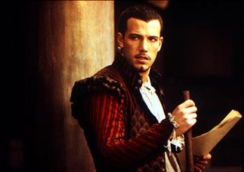 Ben Affleck as Ned Alleyn in Shakespeare In Love