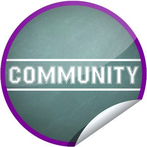 'Community' GetGlue sticker