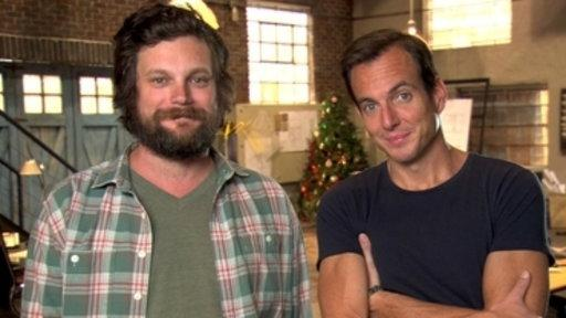Holiday Greetings from Will Arnett and Luka Jones