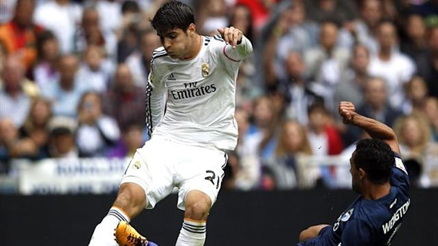 Real Madrid forward Alvaro Morata (Reuters)