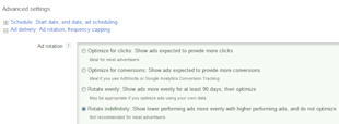 The Top 10 Biggest Changes in Paid Search History (10 6) image AdWords Creative Rotation Settings