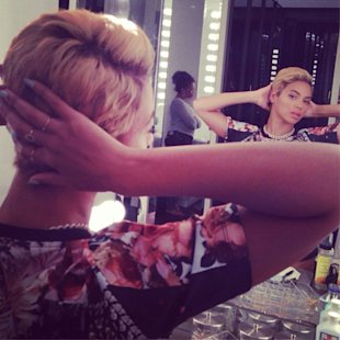 Pretty Pixie! Beyonce Drastically Ditches Weave To Unveil New Cropped Hairstyle