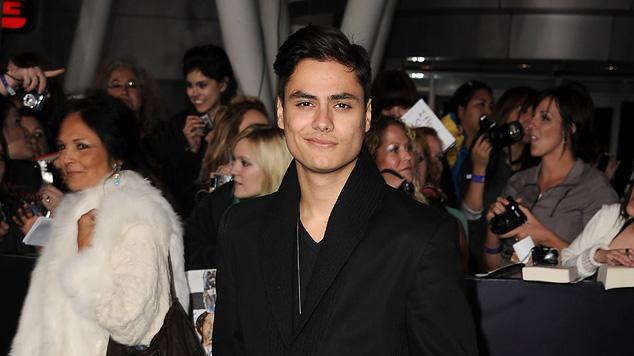 The Twilight Saga Breaking Dawn Part 1 2011 LA Premiere Kiowa Gordon