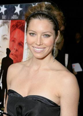 Jessica Biel at the Los Angeles premiere of MGM's Home of the Brave