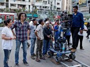 Imtiaz Ali drops in on MERE DAD KI MARUTI sets!