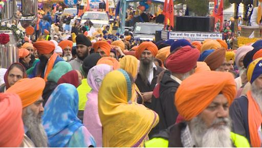 Surrey's annual Vaisakhi parade and festival is one of the largest Vaisakhi celebrations outside India. Organizers in Surrey say more than 200,000 people took part this year.