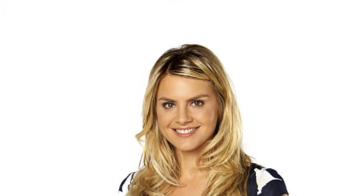 "Eliza Coupe stars in ""Happy Endings."""