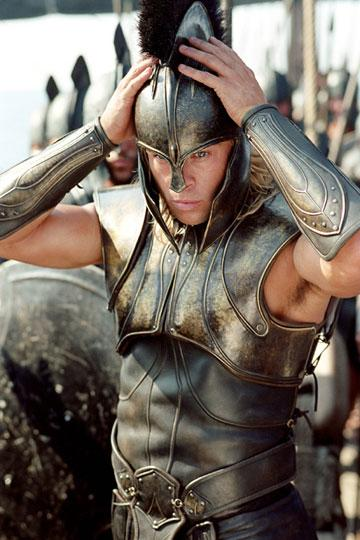 Brad Pitt in Warner Brothers' Troy
