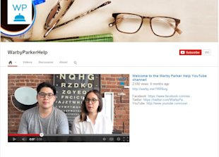 YouTube: Combining Customer Service and Social Media Strategy image Warby Parker