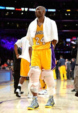 Kobe Bryant has always taken the extra step in maintenance and preparation. (Getty Images)