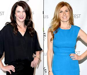 "Lauren Graham and Connie Britton Were Roommates: ""All We Ate Were Rice Krispies Treats"""