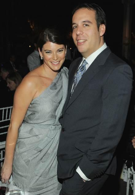 Gail Simmons and Jeremy Abrams attend the 3rd Annual Blossom Ball celebrated by The Endometriosis Foundation of America at New York Public Library - Stephen A Schwartzman Building on March 18, 2011 in New York City -- Getty Premium