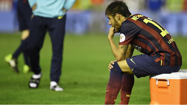 Barca's Neymar and Alba out for month