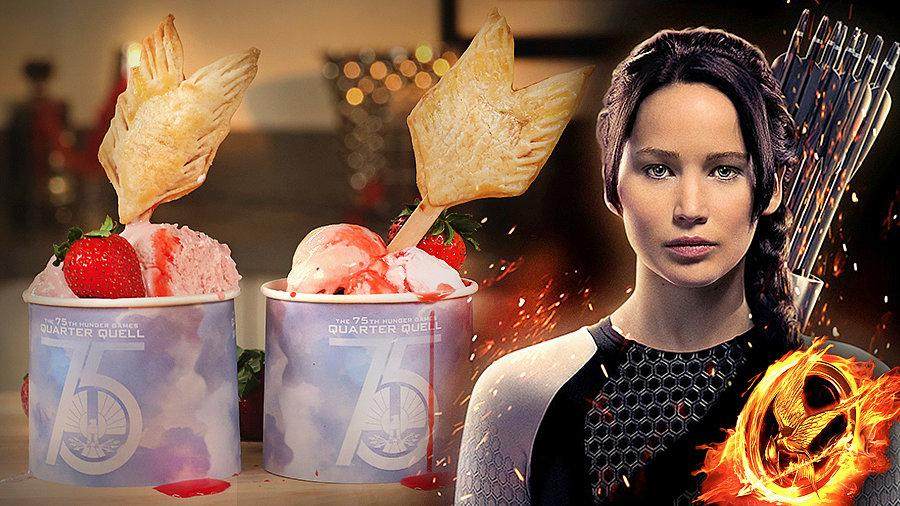 Hunger Games-Inspired Arrow Pie Pops
