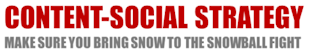 Content social Strategy – Make Sure You Bring Snow To The Snowball Fight image social content strategy