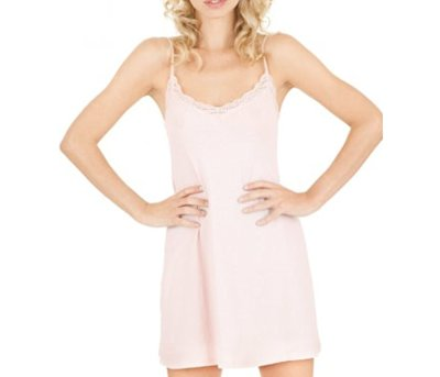 Only Hearts Organic Cotton Lace Chemise
