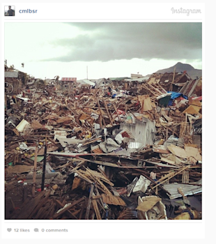 8 Ways Social Media Is Directly Helping the Victims of Typhoon Haiyan image These Instagram photos taken after Typhoon Haiyan are devastating GlobalPost2