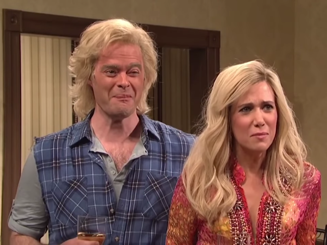snl stars dating One of several saturday night live sketches to prompt a feature film, leon phelps was the ladies man portrayed by tim meadows, the ladies man provided dating and sexual advice to callers in a 1970s setting.