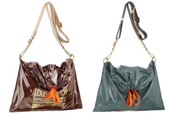 Louis Vuitton Raindrop Besace purses, $1,960 each