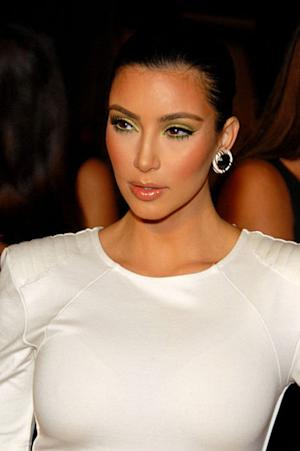 Kim Kardashian Steps Out Wearing a Bed Sheet Look-alike