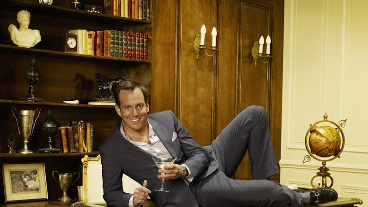 "Will Arnett stars as Steve Wilde in ""Running Wilde."""