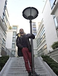 Dancer and choreographer, Akram Khan, poses for a photo in Paris, on December 11, 2012. With the Olympics ceremony under his belt, two films on the boil and three shows on tour, Britain's best-known choreographer could hardly be busier if he tried