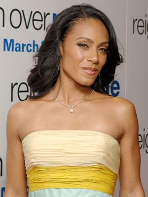 Jada Pinkett-Smith at the New York premiere of Sony Pictures' Reign Over Me