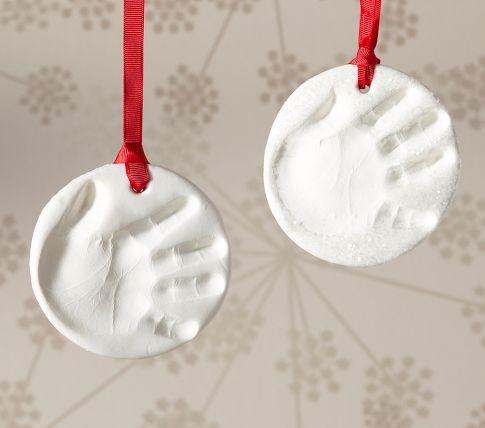 Baby Handprint Ornament
