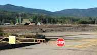 The Babine Forest Products mill, nine months after a deadly explosion and fire leveled the facility. On Sept. 17, Hampton Affiliates announced it intended to rebuild the sawmill, though smaller than the original.