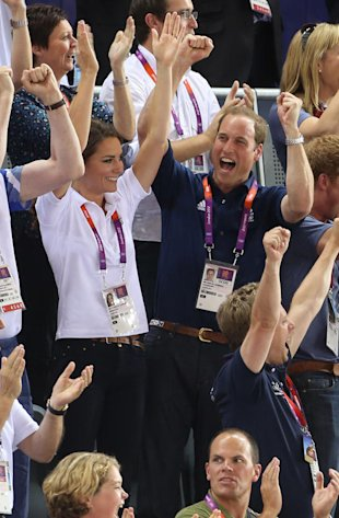 William e Kate alle Olimpiadi 2012