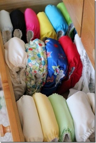 We've been cloth diapering for 15 months. I'd never go back!