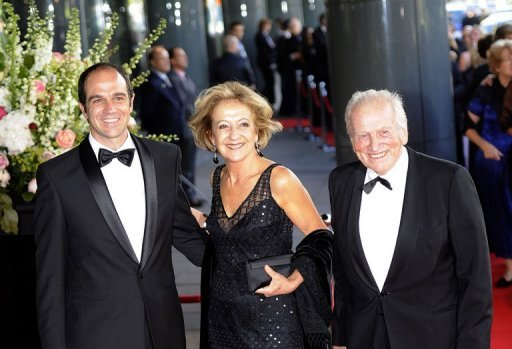Jorge Zorreguieta (right), his wife Maria and their son Martin arrive at the Concertgebouw in Amsterdam in May 2011. The Argentine junta her father served has cast a shadow over the future queen of the Netherlands, Maxima, but since becoming Dutch she has tried to escape the bubble she grew up in and learn the truth
