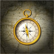 Journey to a Customer Focused Culture image compass and map