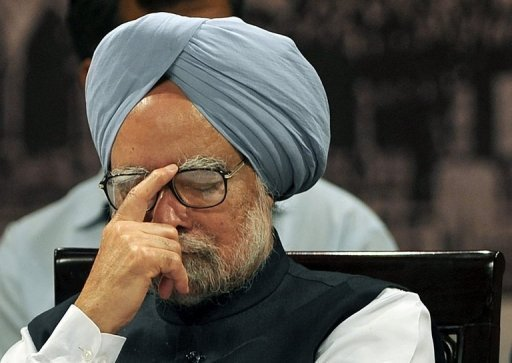 Indian Prime Minister Manmohan Singh attends the 150th anniversary celebrations of the Bombay High Court in August 2012. India has recently shown sensitivity to criticism of its leaders, with the government responding angrily to a Washington Post article on Singh, who has been hit by a string of graft scandals.