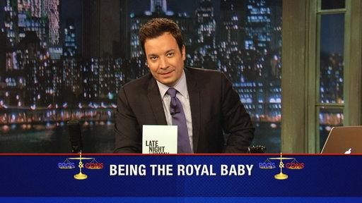 Pros and Cons: Being the Royal Baby