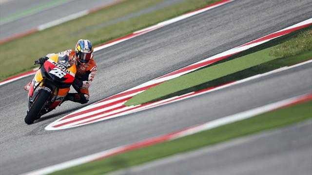 Pedrosa edges Lorenzo to Misano MotoGP pole